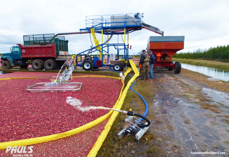 Cranberry Harvest Pump at Paul's Machine and Tool in Warrens, WI