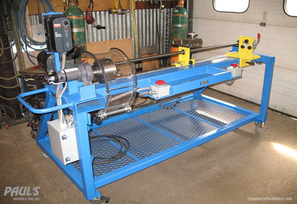 Custom industrial machines and tools from Pauls Machine and Tool Inc